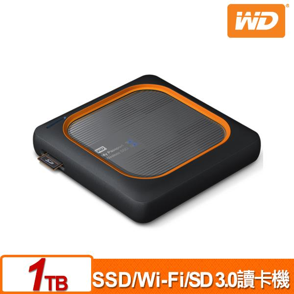 WD My Passport Wireless SSD 1TB 外接式Wi-Fi固態硬碟